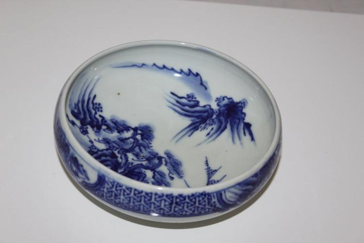 Antique Chinese / Asian 19th / 20th Blue and White Bowl
