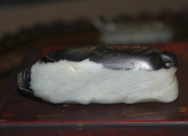 Antique / Vintage Chinese Nephrite Jade Pig