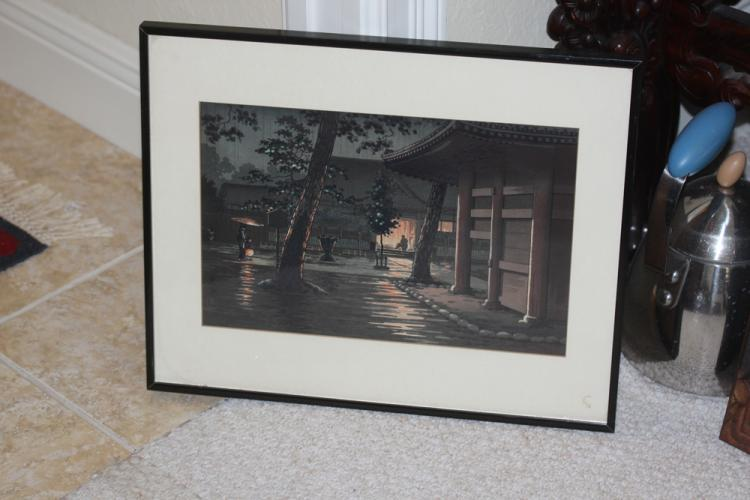 Antique / Vintage Japanese Watercolor
