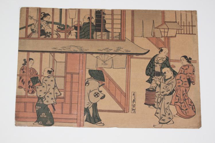 20th Century Japanese Woodblock Print