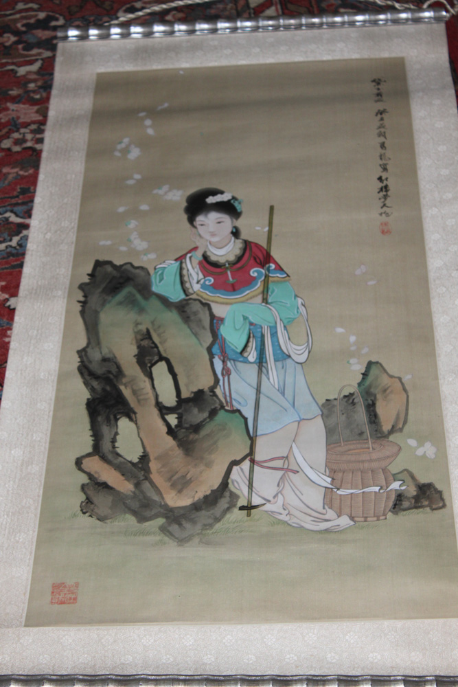 Chinese Painting on Scroll