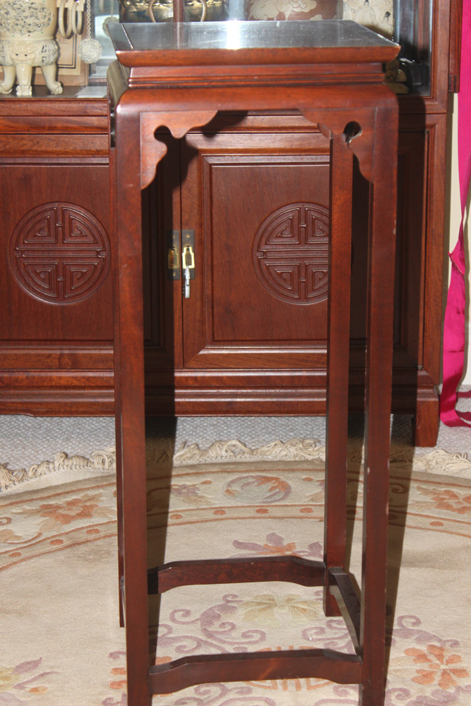Vintage Rosewood Chinese Fern Stand