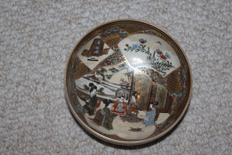 Antique 19th Century Japanese Satsuma Bowl