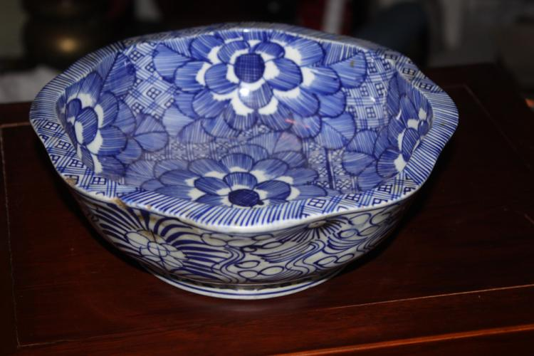 Antique Chinese / Asian Blue and White Bowl