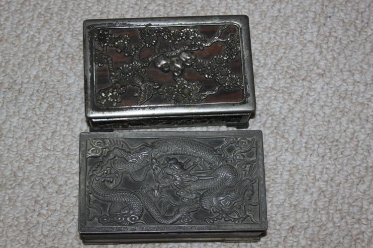 Lot of 2 Chinese Boxes