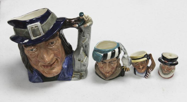 Lot of 4 Royal Dalton Figurines