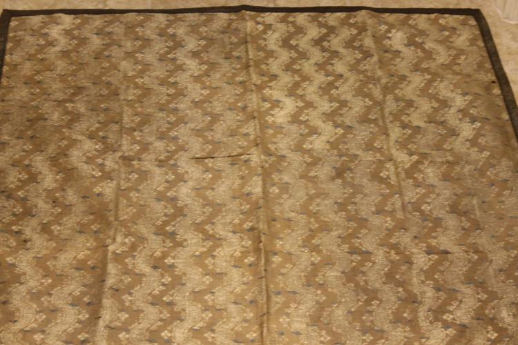 Vintage Hand Stitched Asian Silk Panel
