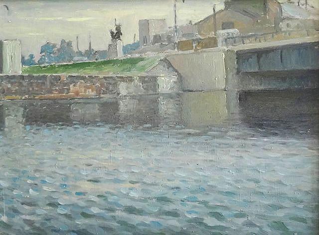 Arturs Baumanis (1892-1975) - Liepaja channel