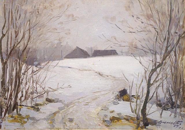 Alfejs Bromults (1913-1991) - Winter