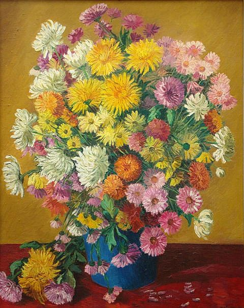 Ansis Artums (1908-1997) - Asters