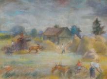 Aleksandra Belcova (1892–1981) - Hay time