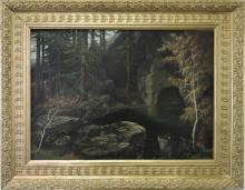 MINARIK JAN BEDRICH ( 1862 - 1937 ) View to the forest