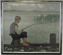 WOLFF EUGEN ( 1873 - 1937 ) Grauer Tag