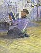 By George Sherwood Hunter (1850-1919) - kneeling, G. Sherwood Hunter, Click for value