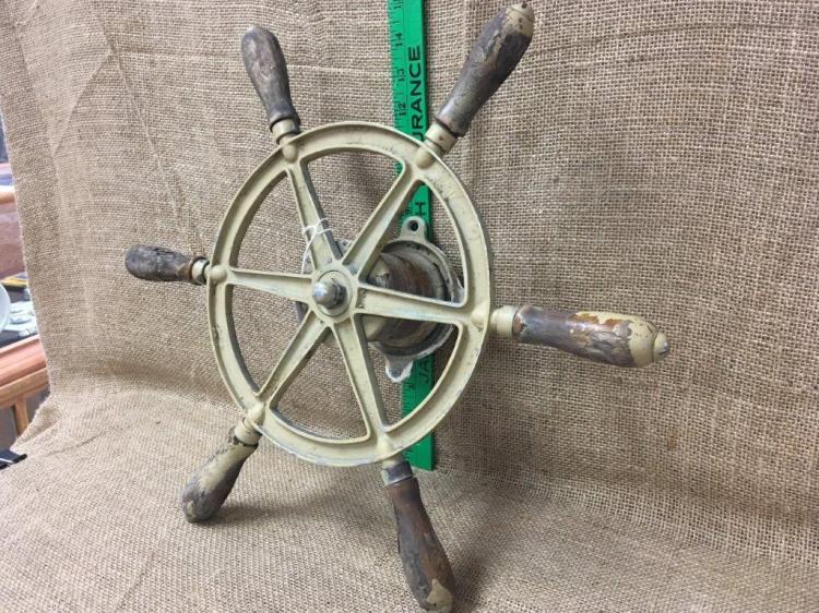 Lot 3: Boat wheel