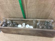 Lot 12: Pharmacy bottles
