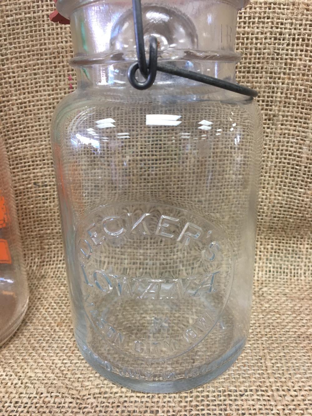 Lot 7: Fruit jars