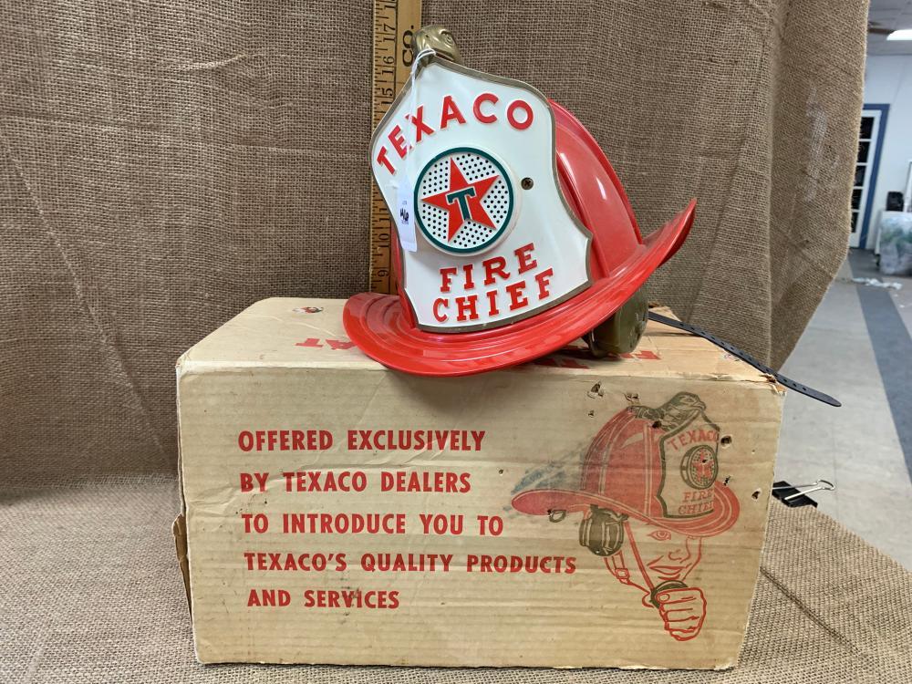 Texaco fire hat