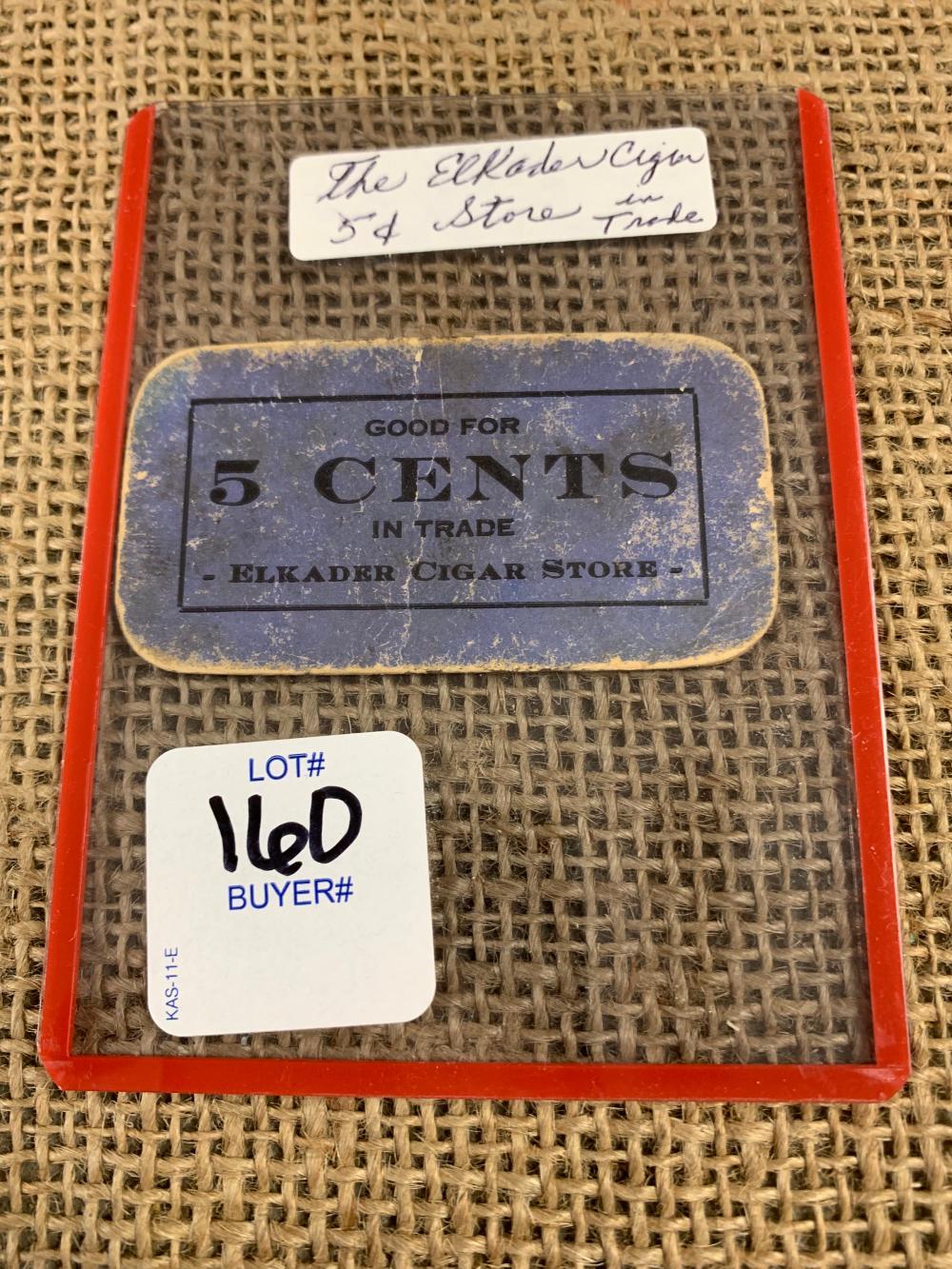 Cigar coupon