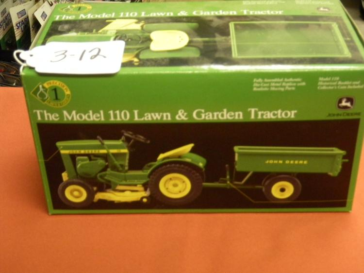 THE MODEL 110 LAWN & GARDEN TRACTOR