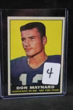 Football card: