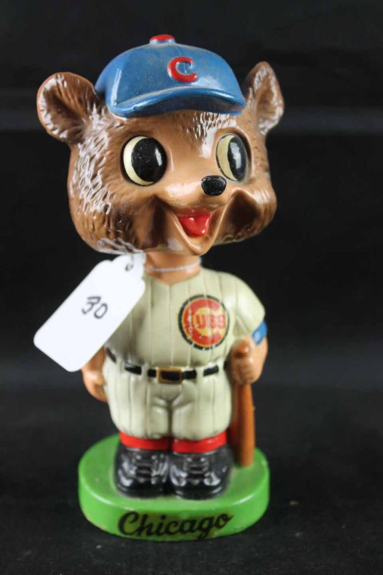 Early 1960s baseball mini bobblehead (slightly smaller):