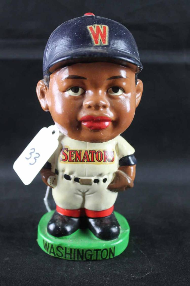 Early 1960s baseball mini bobblehead (slightly smaller 6.25 inches):