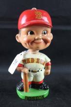 Early 1960s baseball mini (slightly smaller) bobblehead: