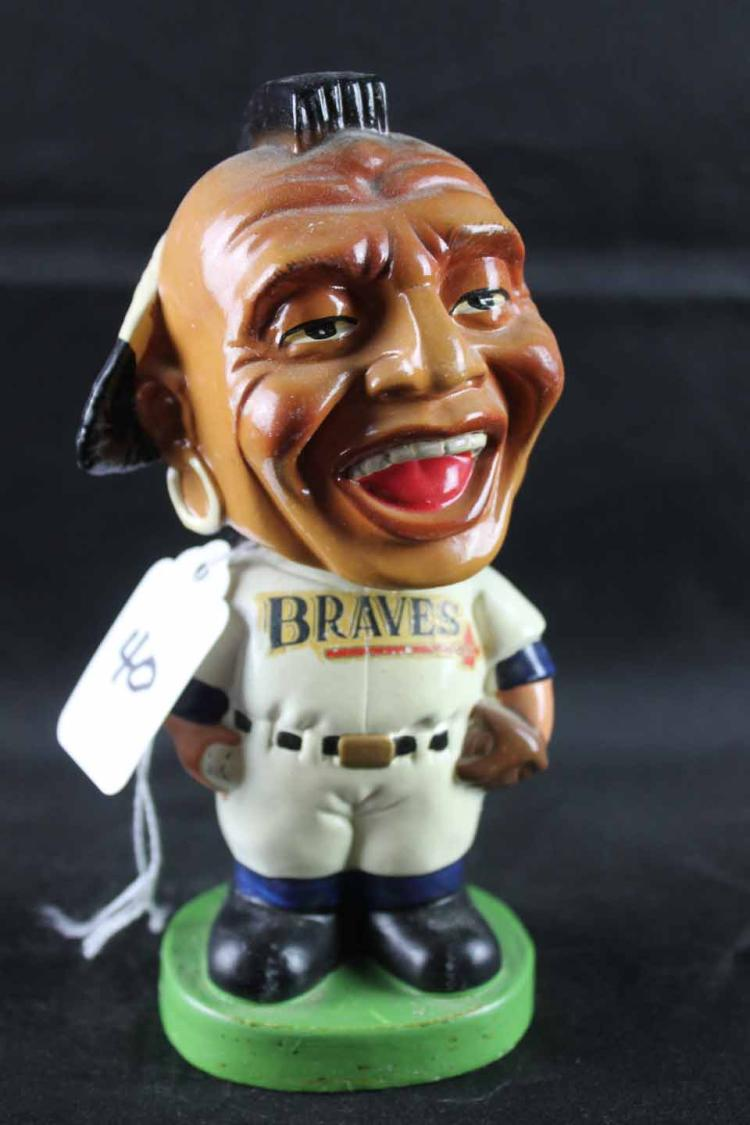 Early 1960s baseball mini (slightly smaller) bobblehead: