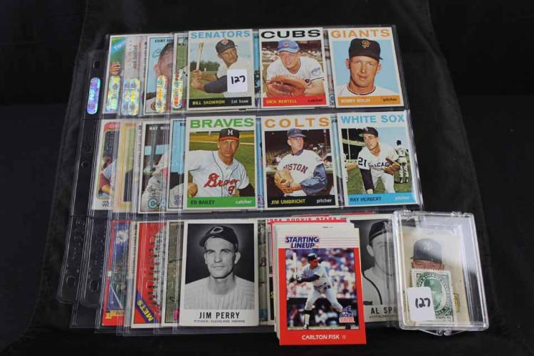 Baseball cards/3 nonsports: