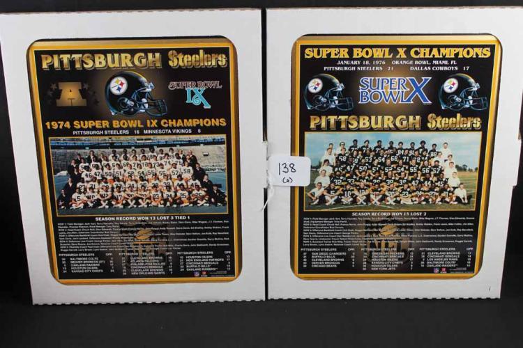 Football plaques: