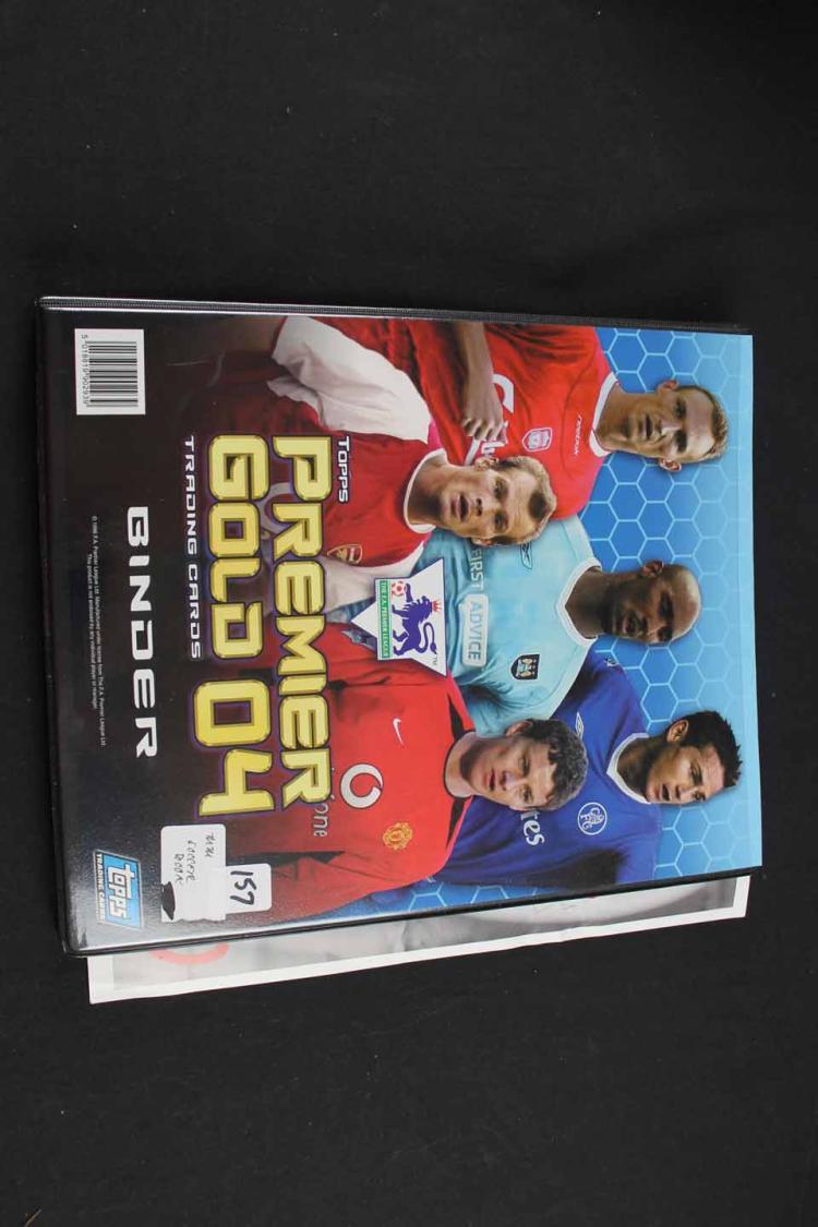 Soccer cards:
