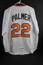 Autographed baseball jersey: