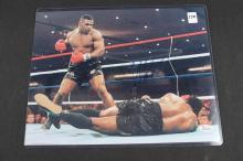 Autographed boxing photo:
