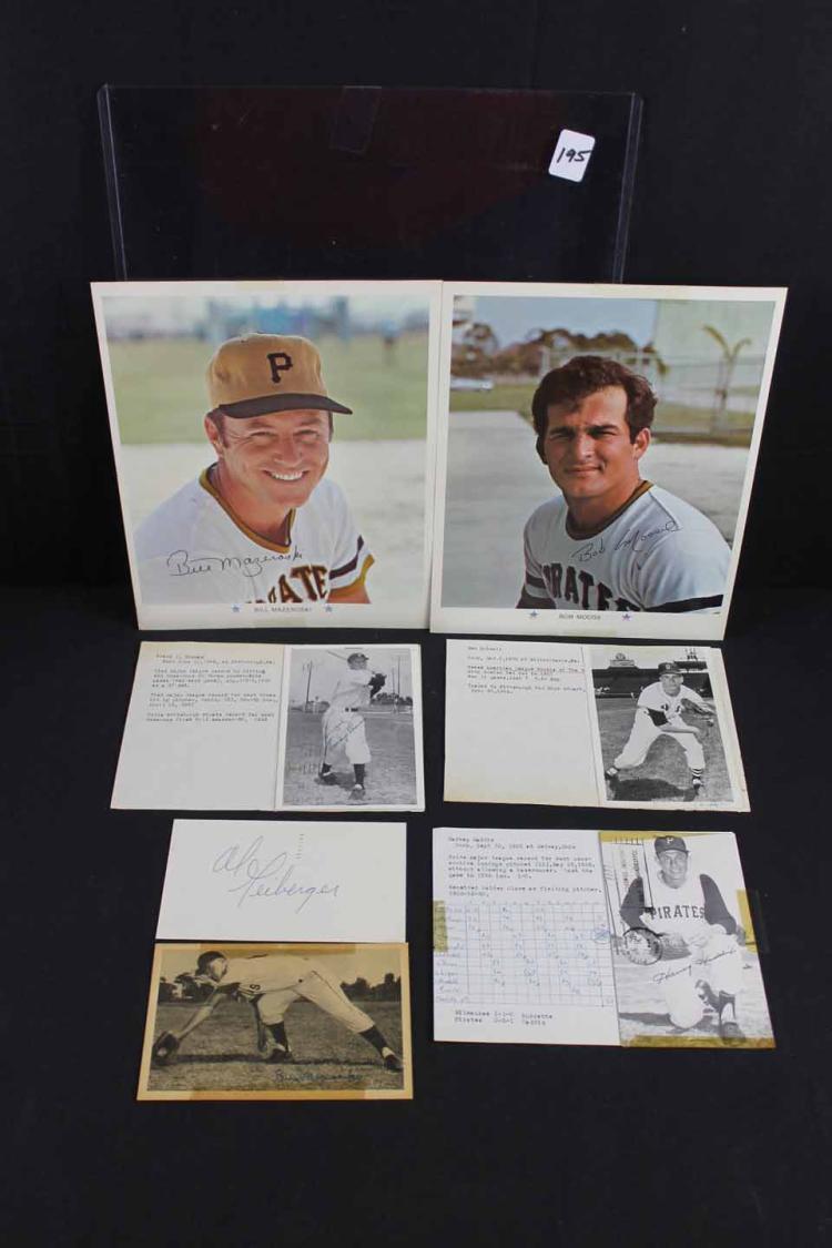 Autographed sports photos: