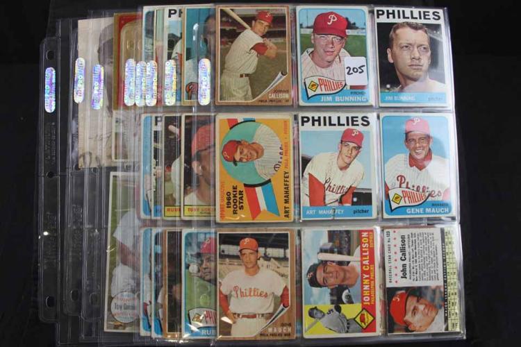 Phillies scrapbook/cards: