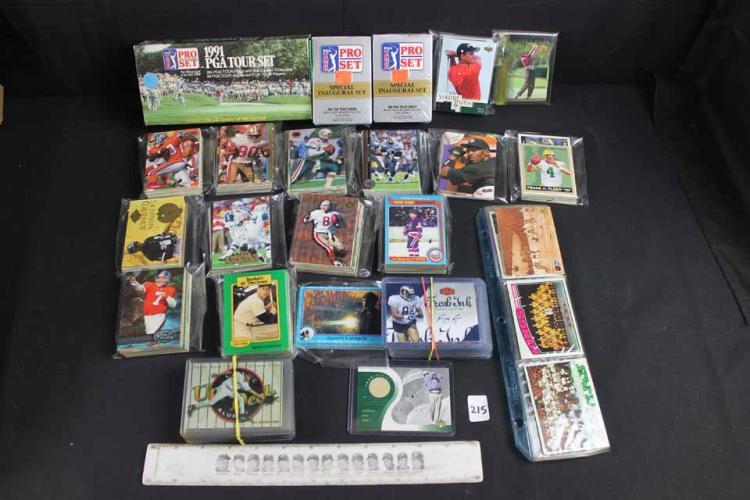 Sports card lot: