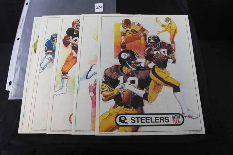 Football cards/posters: