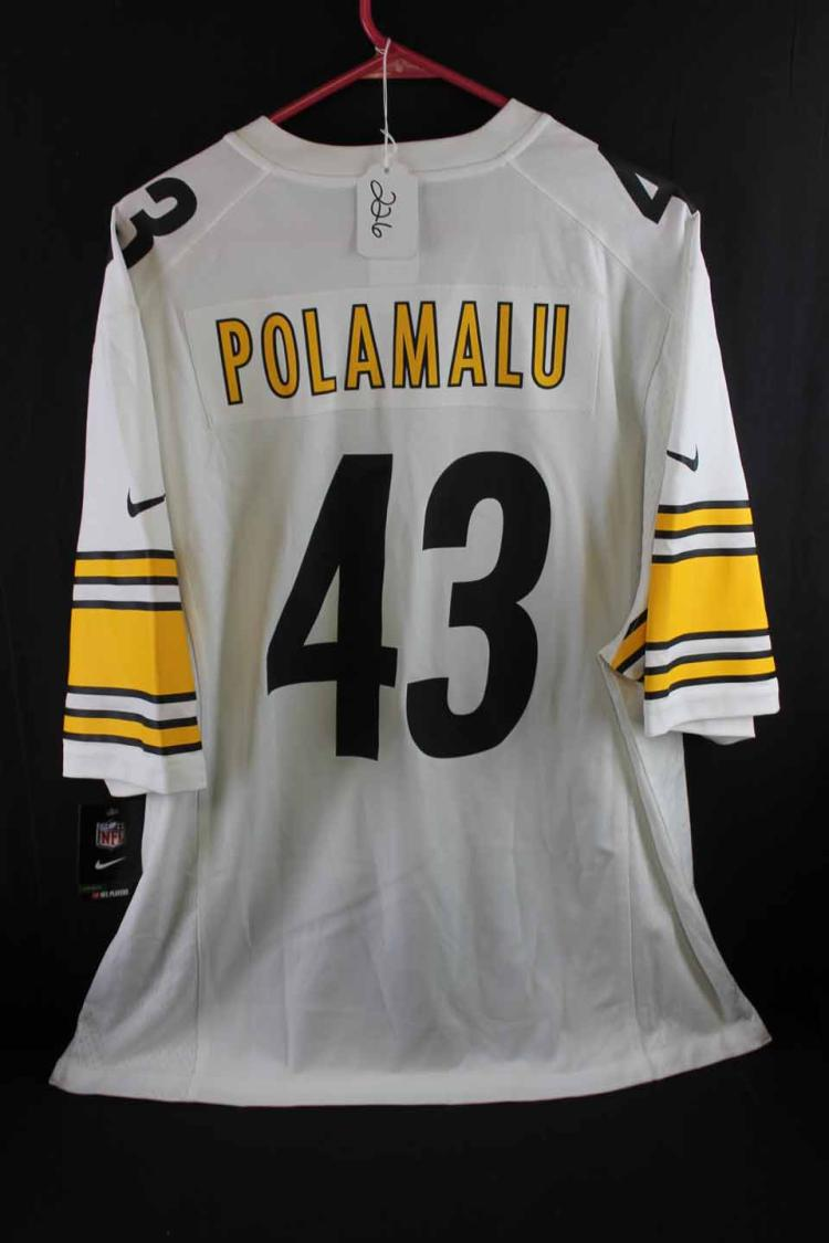 Autographed football jersey:
