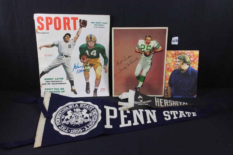 Football memorabilia: