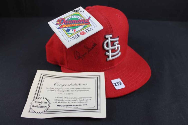 Autographed baseball cap: