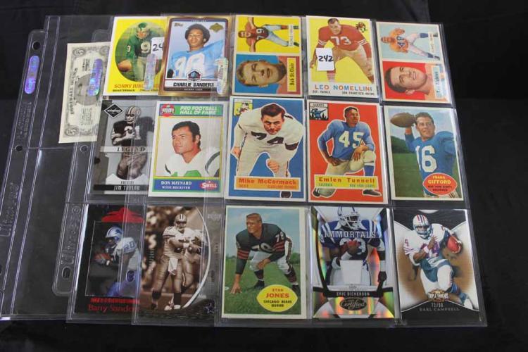 Football cards: