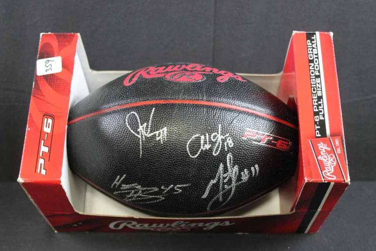 Autographed football: