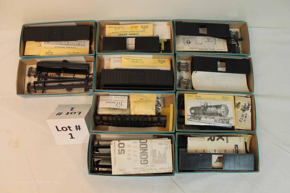 Model Trains & Railroadiana