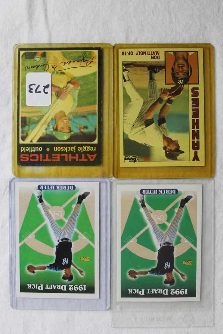 4 Baseball Cards