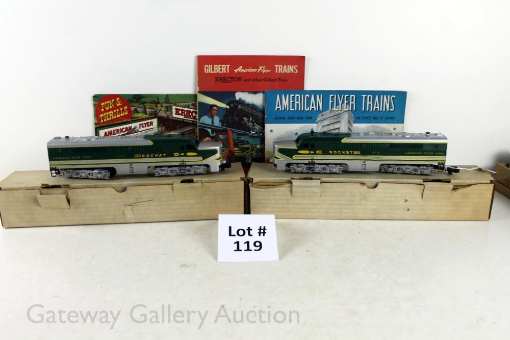 American Flyer Postwar S Gauge: