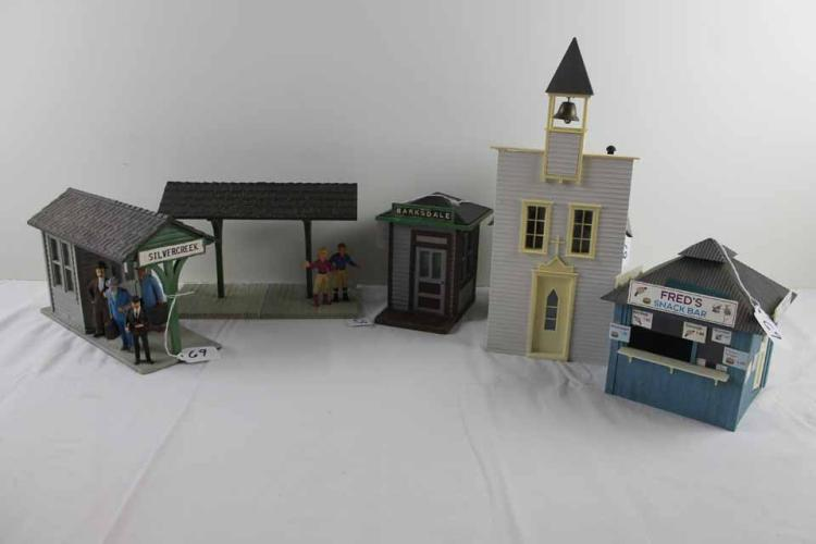 G Scale Buildings: