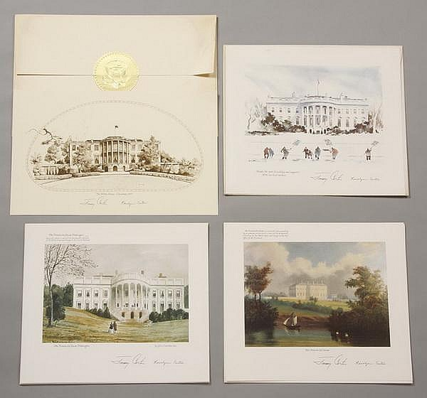 (16) Carter Presidential Christmas cards