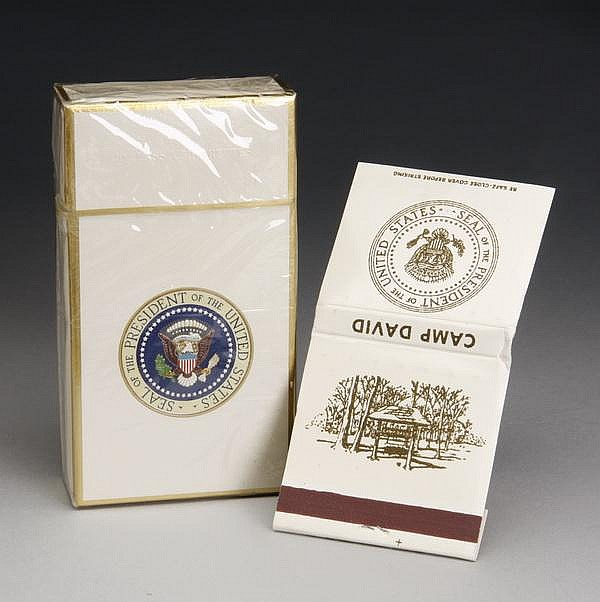 Presidential cigarettes & Camp David matches