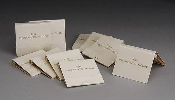 (10) Matchbooks - The President's House